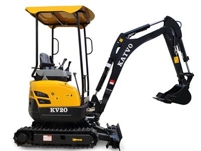 凱迪沃KV20小型挖掘機簡介