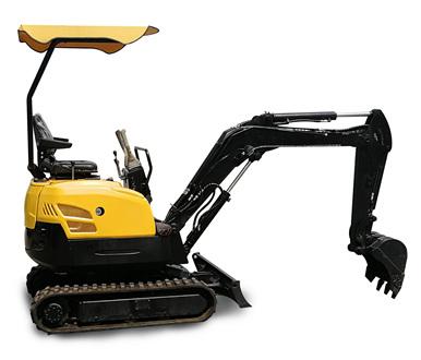 17型小型挖掘機